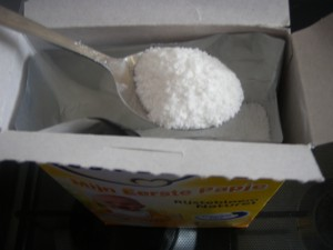 Het aantal schepjes rijstebloem ligt erg nauw: wordt het eetbare pap of beton?
